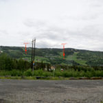 Utsikt fra Hafjell stasjon